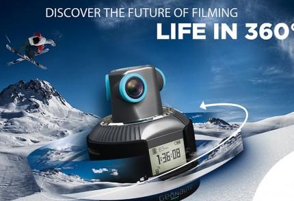 camera 360 geonaute